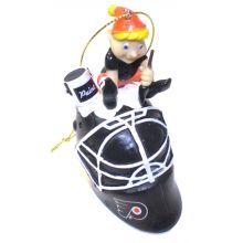 Philadelphia Flyers  Painting Elf Ornament