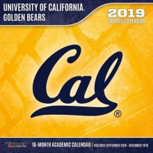 University of California Golden Bears 12 x 12 Wall Calendar (2019)