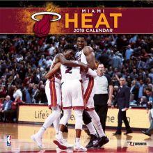 Miami Heat 12 x 12 Wall Calendar 2019