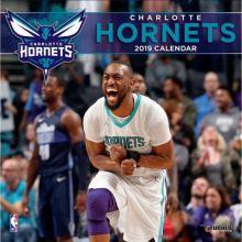 Charlotte Hornets 12 x 12 Wall Calendar