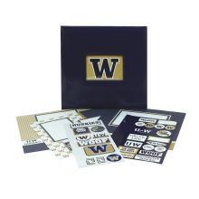 Washington Huskies 12 x 12 Complete Scrapbook Kit