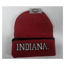 Indiana Hoosiers Embroidered Cuffed Beanie Hat