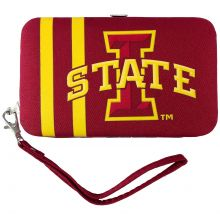 Iowa State Cyclones Distressed Wallet Wristlet