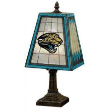 Jacksonville Jaguars Art Glass Table Lamp