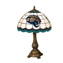 Jacksonville Jaguars Art Glass Tiffany Table Lamp