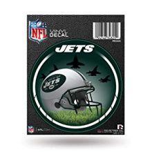 "New York Jets 4"" Round Vinyl Decal"
