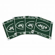 New York Jets 4-Pack Ceramic Coasters