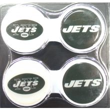 New York Jets 2 Pack Contact Lens Case