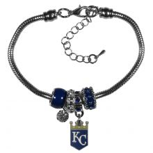 Kansas City Royals Euro Bead Charm Bracelet