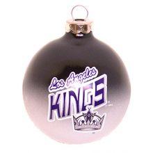 Los Angeles Kings Glass Ball Ornament