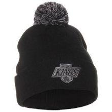 Los Angeles Kings Black Pom Beanie
