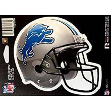 """Detroit Lions 6"""" Helmet Die-Cut Window Decal"""