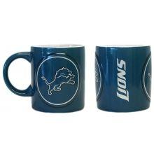 Detroit Lions 2 Pack Ceramic Warm Up Mug Set