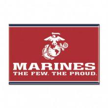 "United States Marines 2.5"" X 3.5"" Metal Magnet"