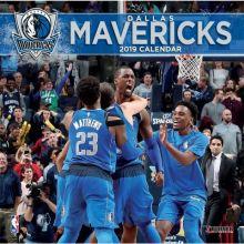 Dallas Mavericks 12 x 12 Wall Calendar