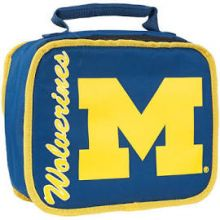 NCAA Michigan Wolverines Sacked Insulated Lunch Cooler Bag