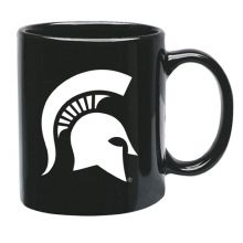 Michigan State Spartans 15 oz Black Ceramic Coffee Cup