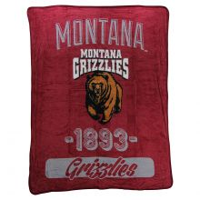 Montana Grizzlies Varsity Super Plush Fleece Throw