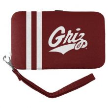 Montana Grizzlies Distressed Wallet Wristlet