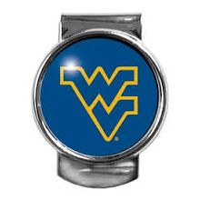 West Virginia Mountaineers Dome Money Clip
