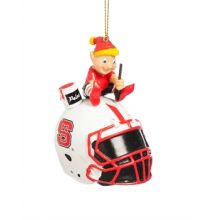 North Carolina State Wolfpack Painting Elf Ornament
