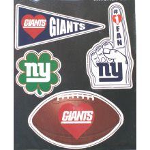 New York Giants 4 Piece Magnet Set