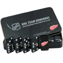Detroit Red Wings Double Six Domino Set