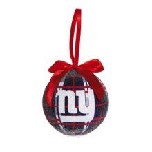 New York Giants 100 MM LED Ball Ornament