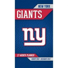 New York Giants 17 Month Pocket Planner (2018-2018)
