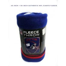 """New York Giants 40"""" x 60"""" Shield Fleece Throw Blanket"""