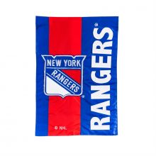 New York Rangers Embellish House Flag