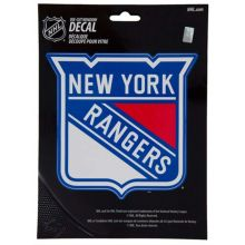 "New York Rangers 5.75"" X 7.75"" Die-Cut Window Decal"