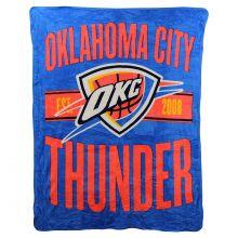 NBA OKC Thunder Super Plush Fleece Throw Blanket