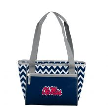 Ole Miss Chevron 16 Can Tote Bag Cooler