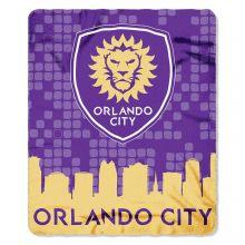Orlando City FC Skyline Series Fleece Blanket