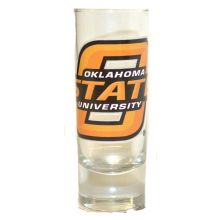 Oklahoma State Cowboys 2 oz Cordial Shot Glass
