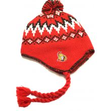 Ottawa Senators Pom Tassel Fleece Lined Beanie