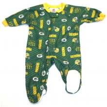 Green Bay Packers 2018 Toddler Footed Blanket Sleeper 3T