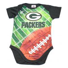 Green Bay Packers  Infant Field Bodysuit 0-3 Months
