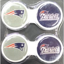 New England Patriots 2 Pack Contact Lens Case