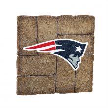 New England Patriots 12 inch x 12 inch Garden Stone