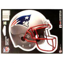 """New England Patriots 6"""" Helmet Die-Cut Window Decal"""