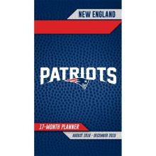 New England Patriots 17 Month Pocket Planner (2018-2018)