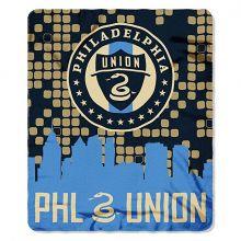 Philadelphia Union Skyline Series Fleece Blanket