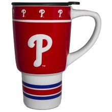 Philadelphia Phillies Sculpted Travel Mug with Lid, 15oz