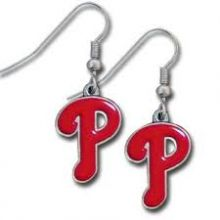 Philadelphia Phillies Logo Dangle Earrings