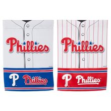 Philadelphia Phillies 2 Sided Suede Garden Flag