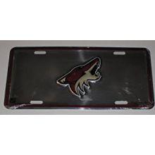 Arizona Coyotes Aluminum License Plate