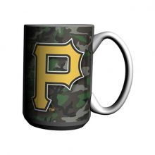 Pittsburgh Pirates 15-Ounce Ceramic Camo Mug