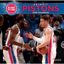 Detroit Pistons 12 x 12 Wall Calendar